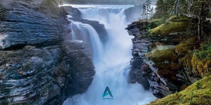 آبشار آتاباسکا