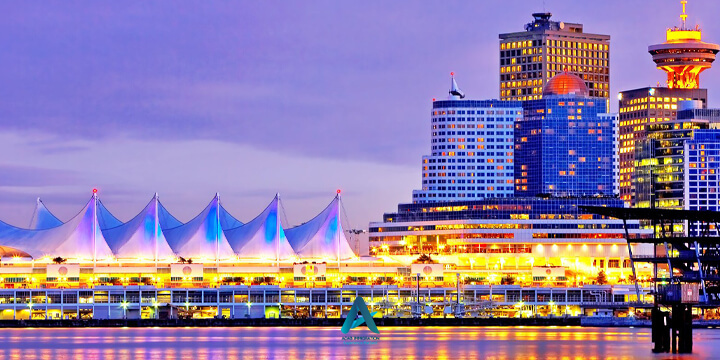 شهر ونکوور کانادا