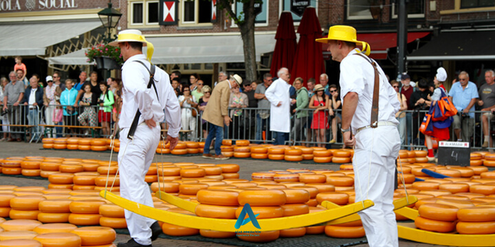 بازار پنیر آلکمار
