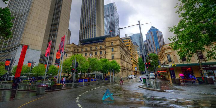 آب و هوای شهر سیدنی