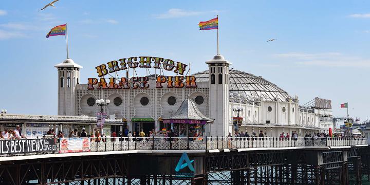 brighton palace pier..